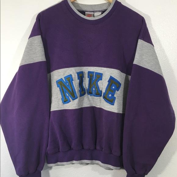 8dfadf8b939fa Vintage 80s 90s Nike Air Crewneck Sweatshirt
